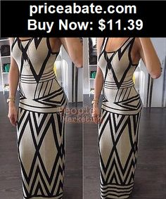 Sexy-Women-Dresses: 2015 Sexy Women Summer Boho Casual Long Maxi Evening Party Cocktail Beach Dress - BUY IT NOW ONLY $11.39