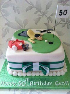 Golfer cake - Cake by melinda - CakesDecor