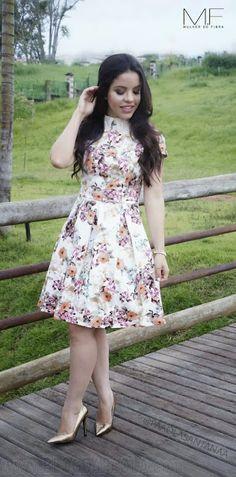 Blog da Paola: Look do Dia: Vestido Lady Like da Mulher de Fribra.