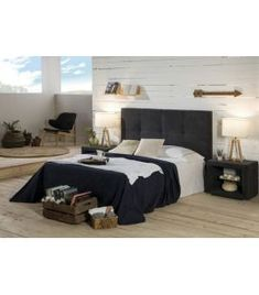 Comprar online Cabezal Tapizado de estilo Nórdico MONTECARLO Bed, Furniture, Home Decor, Upholstered Beds, Medium Brown, Nordic Style, Headboards, Decoration Home, Stream Bed
