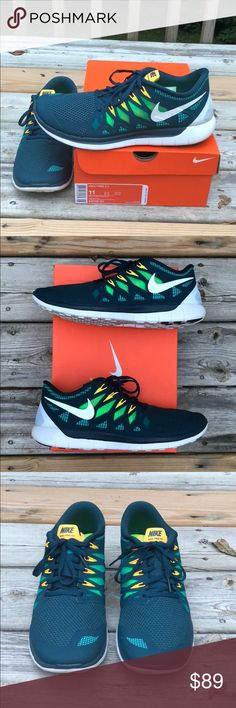 lowest price 1ec23 ef2c7 Shop Men s Nike Green White size 11 Athletic Shoes at a discounted price at  Poshmark.