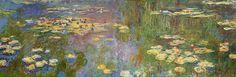 "Claude Monet ""Water Lilies, 1920-1926"""