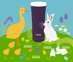 Coffee makes for a hoppy and happy Easter. (Image: @alyshadawn)