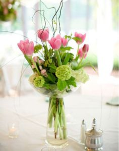 lovely tulip arrangement