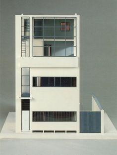 Model : Maison Guiette, Anvers Belgium | Le Corbusier