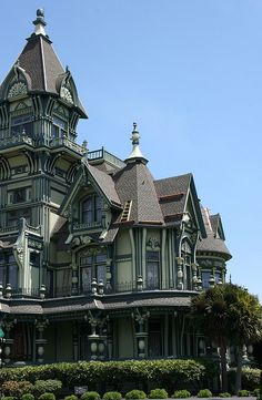Carson Mansion in Eureka, CA such a beautiful  home built from the logging industry