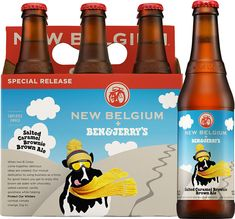Ben and Jerry's / New Belgium Brewing Collaboration Beer Coming Fall 2015 - The Drink Nation