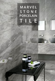 Marvel Stone is now in stock! An extension of the Marvel series, these luxurious marble and stone-look tiles create high visual impact for effortless contemporary design. The versatility and durability of porcelain meets the beauty of natural stone. Now stocking four marble looks and two stone looks in various sizes, finishes, and mosaics!