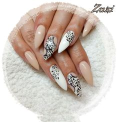 Gel#nail#gepard#white