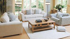Sloane 3 Seater Fabric Sofa