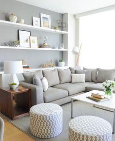 Marvelous  Bilder kleines Wohnzimmer einrichten Wohnen Pinterest Sofas