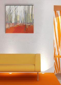 Modern tájkép - vászonkép Residenceharmony webáruház