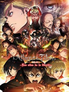 Looking for information on the anime Shingeki no Kyojin Movie Jiyuu no Tsubasa (Attack on Titan: Wings of Freedom)? Find out more with MyAnimeList, the world's most active online anime and manga community and database. Anime Boys, Manga Anime, Anime Art, Attack On Titan Season, Attack On Titan Art, Eren Aot, Armin, Ereri, Gekkan Shoujo