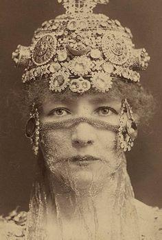 Sarah Bernhardt as the Empress of Byzantium Théodora (1884)