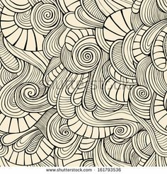 Ornamental vintage Floral abstract seamless pattern by balabolka, via Shutterstock