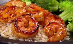 Des crevettes MIEL et AIL en 10 minutes TOP CHRONO! Ça c'est pas plate du tout!