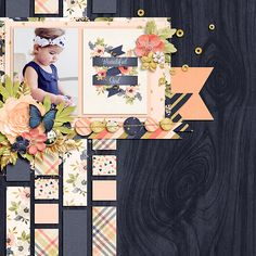 How to Make A Paper Bag Scrapbook – Scrapbooking Fun! Baby Girl Scrapbook, Love Scrapbook, Paper Bag Scrapbook, Scrapbook Layout Sketches, Wedding Scrapbook, Scrapbook Designs, Scrapbooking Layouts, Scrapbook Cards, Creative Memories