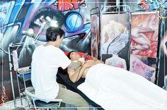Khóa học xăm hình nghệ thuật Chuyên nghiệp (Tattoo Art) - Từ 10.000.000đ giảm 70% còn 3.000.000đ - Thẩm Mỹ Viện LINDA KIỀU #họcxăm