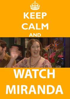 Miranda Hart, this woman makes me laugh!!! Season 1 & 2 are on Hulu, not just Hulu+. Normal Hulu. If you've never seen Miranda, go watch it. :)