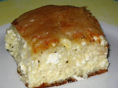 Greek recipe - greek food recipes and cooking - Cheese Pie with filo crust - Τυρόπιτα με φύλλο κρούστας