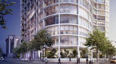 New Images of Herzog & de Meuron's Latest New York Condo Building,Older rendering. Image © Herzog & de Meuron