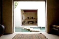 Home water feature ~desire to inspire - Michael Wells Creative Architecture, Amazing Architecture, Interior Architecture, Interior And Exterior, Interior Design, Wells, Space Place, Piece A Vivre, Japanese House