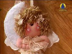 ▶ Sabor de Vida Artesanatos | Anjinha Lua por Alessa Mendes - 04 de Junho de 2013 - YouTube
