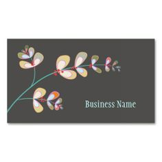 Jeweled Leaves Business Card. This great business card design is available for customization. All text style, colors, sizes can be modified to fit your needs. Just click the image to learn more!