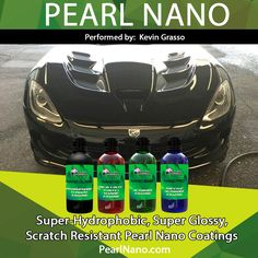 Pearl Nano autobody ceramic coatings performed by Kevin Grasso www.PearlNano.com #superhydrophobic #nanocoatings #ceramic #scratchresistant #nonsolvent #pearlnanoinstaller