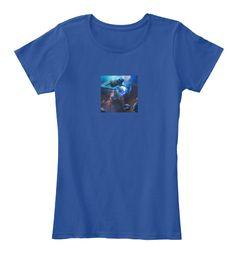 World Dream Deep Royal  T-Shirt Front
