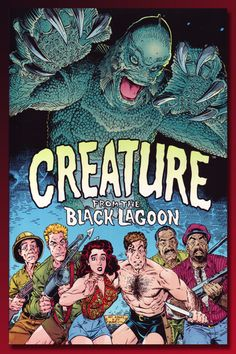 Universal Monsters: Creature from the Black Lagoon, Dark Horse Comics. Wonderful adaption by Art Adams. Comic Book Artists, Comic Books Art, Comic Art, Classic Monster Movies, Classic Monsters, Classic Movies, Monster Squad, Monster Art, Monster Munch