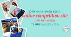 Justplay.co.za - Win Weekly Prizes