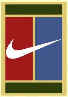 Nike Tennis Classic Logo: Pete Sampras,  Serena Williams, Andre Agassi, Rafael Nadal,  John McEnroe