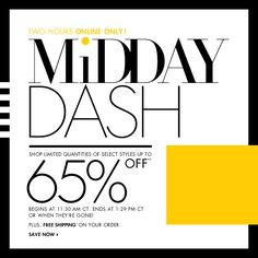 Neiman Marcus - Up to 65% OFF! Midday Dash