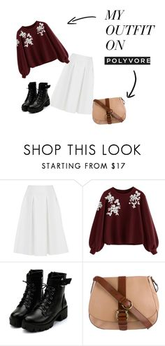 """""""Lovely Autumn"""" by atheazf on Polyvore featuring Ted Baker and Salvatore Ferragamo"""