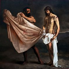 Roberto Ferri - The 10th Station of the Cross