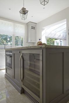 Contemporary Shaker Kitchen - designed by Higham Furniture 7