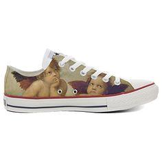Scarpe Converse All Star personalizzate (Prodotto Artigianale) Slim Artistic Style - TG32 - http://on-line-kaufen.de/make-your-shoes/32-eu-converse-all-star-personalisierte-schuhe-37