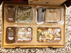 Graze Box Review Food Branding, Food Packaging Design, Packaging Design Inspiration, Brand Packaging, Bento Box, Lunch Box, Graze Box, Cookie Packaging, Subscription Boxes