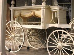Victorian child's hearse