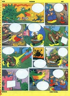 bande dessinee a remplir - Yahoo Image Search Results Teaching French, Teaching English, Efl Teaching, Story Sequencing, Picture Composition, French Education, Maila, French History, Picture Story