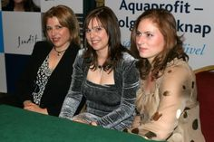 """The fantastic Polgár sisters - from left to right here are Zsuzsa, Zsófia, and Judit: Zsuzsa first female to become a grandmaster; Judit has been the strongest female chess player in history and spent much time in the top ten of contemporary chessplayers; Zsófia is known for her """"Sack of Rome"""" tournament where at 14 years of age, she scored eight and a half out of nine points in a very strong tournament in Rome."""