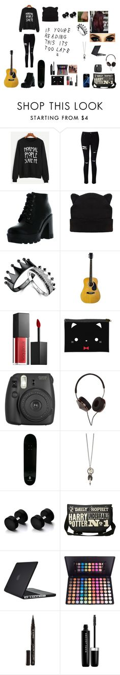 """""""Untitled #71"""" by juliab3638 on Polyvore featuring WithChic, Miss Selfridge, Bamboo, Smashbox, Samsung, Fujifilm, Frends, County Of Milan, Speck and Smith & Cult"""
