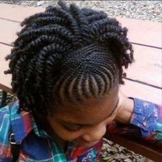 Kids Hairstyles Braids : Cute Hairstyles for Little Black Girls Natural Hairstyles For Kids, Little Girl Hairstyles, Twist Hairstyles, Cute Hairstyles, Black Hairstyles, Teenage Hairstyles, Dreadlock Hairstyles, Wedding Hairstyles, Natural Hair Regimen