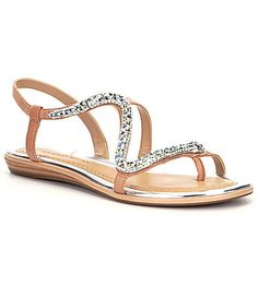 Antonio Melani Sonoran Jeweled Snake Sandals #Dillards