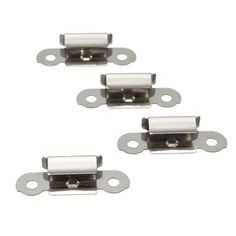 4Pcs 3D Printer Parts Build Platform Glass Retainer Stainless Steel Glass Heated Bed Clip/Clamp