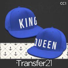 38c50c12f6977 GORRA AZUL VISERA PLANA KING - QUEEN Uñas Azules