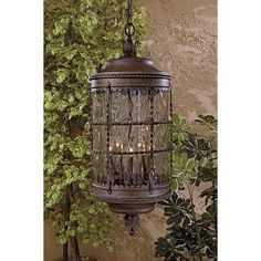 """MINKA LAVERY Mallorca Vintage Rust 32"""" High Chain Hung Outdoor Light $625 + AN EXTRA 15% OFF AT CHECKOUT - USE PROMO CODE: HELLOFALL19 FREE SHIPPING OR PICK UP - WEBSITE: GlowOnSunset.Net"""