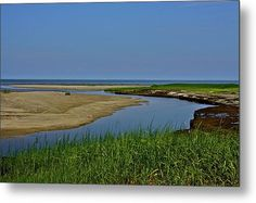 Cape Cod Bay Metal Print By Bonnie Lanzillotta