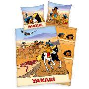Ein Angebot von Roller Baumwoll-Bettwäsche YAKARI - beige - 135x200 cmIhr Quickberater